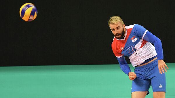 Доигровщик сборной Сербии Урош Ковачевич