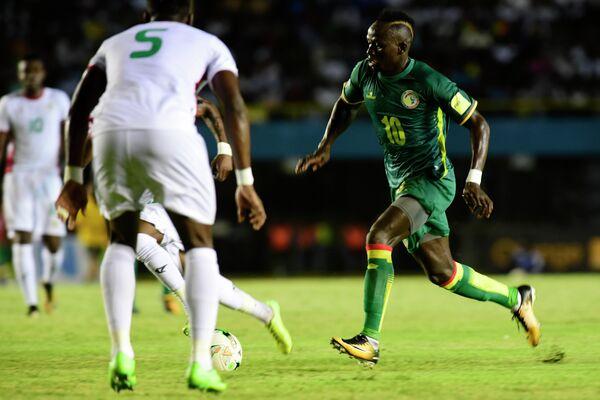 Нападающий сборной Сенегала по футболу и английского Ливерпуля Садьо Мане