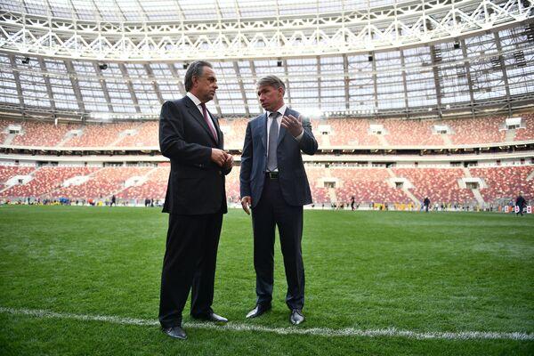 Виталий Мутко (слева) и Алексей Сорокин