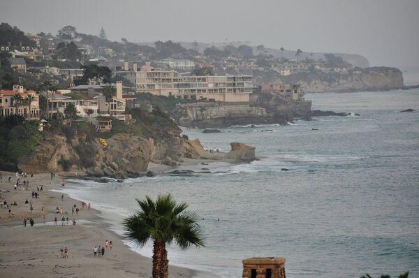 Пляж в Лос-Анжелесе