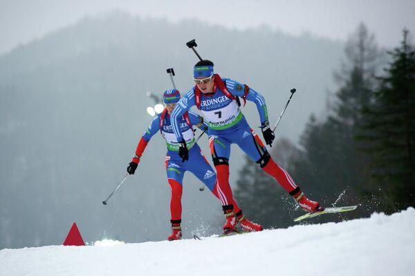 Россиянки Ольга Вилухина и Светлана Слепцова (слева направо)
