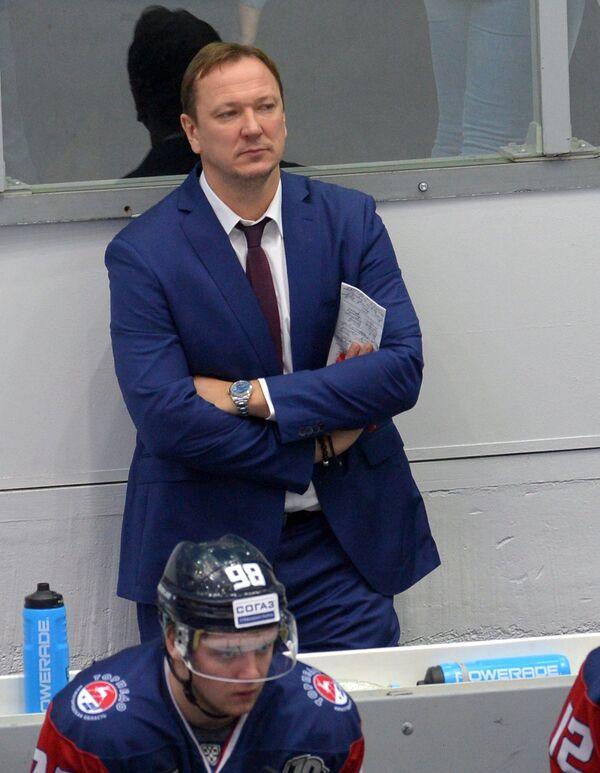 Главный тренер ХК Торпедо Петерис Скудра