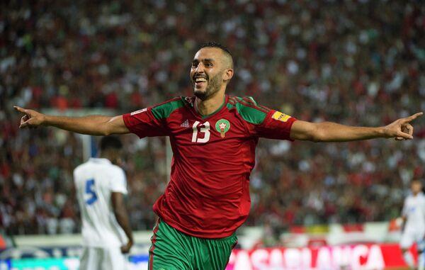 Нападающий сборной Марокко Халид Бутаиб