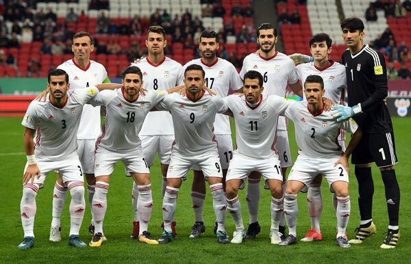 Футболисты сборной Ирана