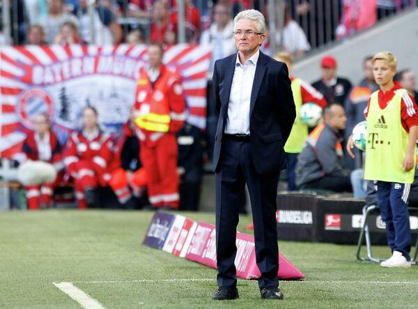 Главный тренер мюнхенской Баварии Юпп Хайнкес