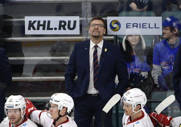 Главный тренер Йокерита Юкка Ялонен