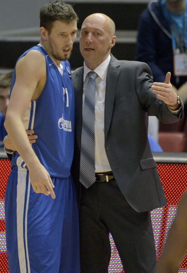 Василий Карасёв (справа) и Евгений Валиев