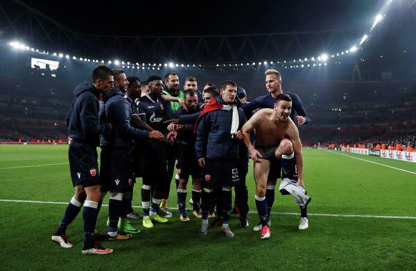 Футболисты белградской Црвены Звезды