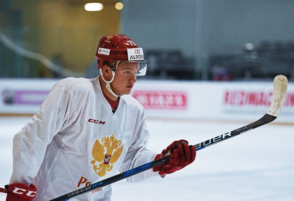 Нападающий сборной России по хоккею Кирилл Капризов