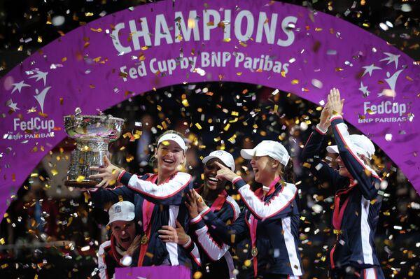Теннисистки сборной США