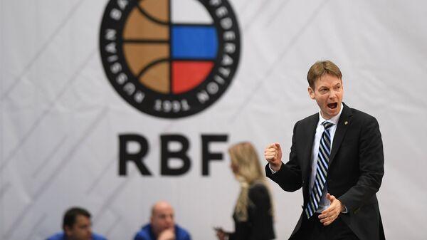 Главный тренер женской сборной России по баскетболу Олаф Ланге