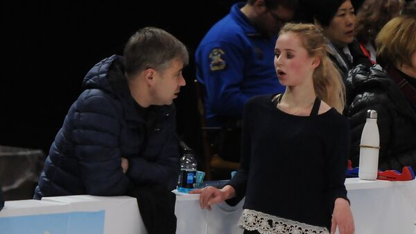 Серафима Саханович и Владислав Жовнирский