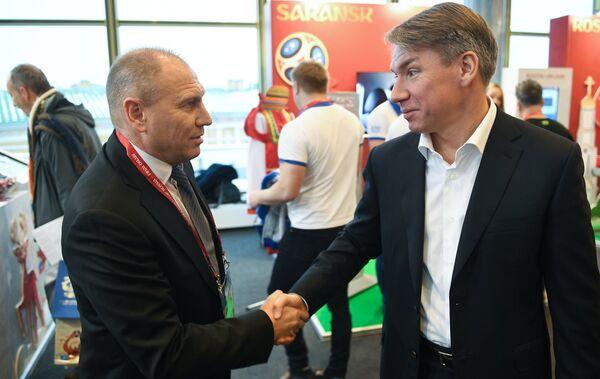 Дмитрий Черышев (слева) и Алексей Сорокин