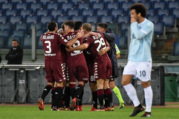 Футболисты итальянского Торино