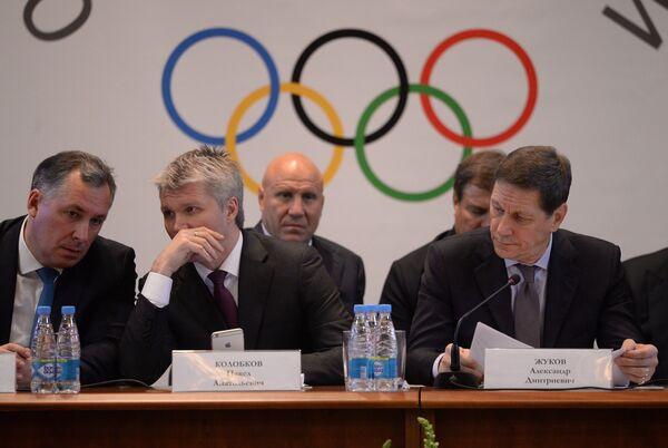 Станислав Поздняков, Павел Колобков и Александр Жуков (слева направо)