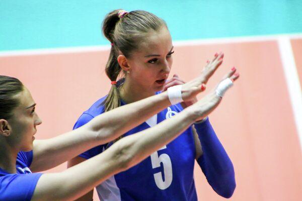 Волейболистка Татьяна Щукина