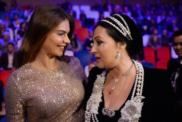 Ирина Винер-Усманова и Алина Кабаева