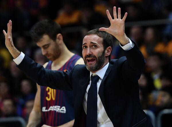 Главный тренер БК Барселона Сито Алонсо