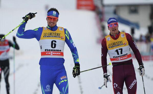 Алексей Полторанин (слева) и Андрей Ларьков