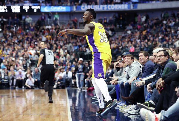 Форвард клуба НБА Лос-Анджелес Лейкерс Джулиус Рэндл