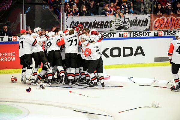 Хоккеисты финского ЮИПа