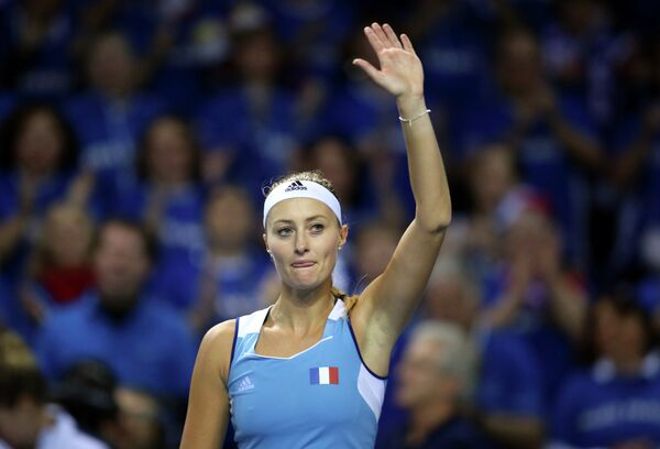 Французская теннисистка Кристина Младенович