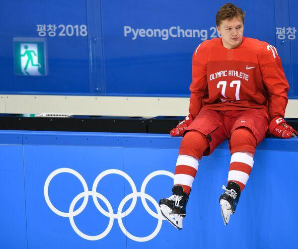 Российский хоккеист Кирилл Капризов