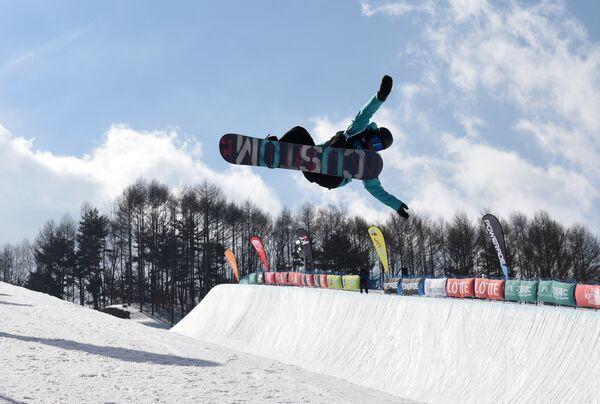 Российский сноубордист Никита Автанеев