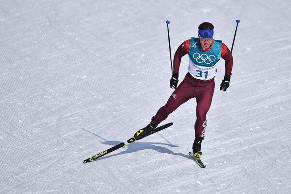Российский спортсмен Андрей Мельниченко