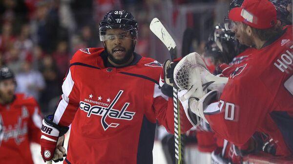 Форвард клуба НХЛ Вашингтон Кэпиталз Деванте Смита-Пелли