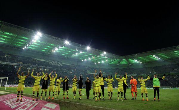 Футболисты дортмундской Боруссии