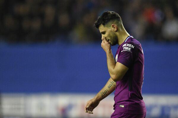 Нападающий Манчестер Сити Серхио Агуэро