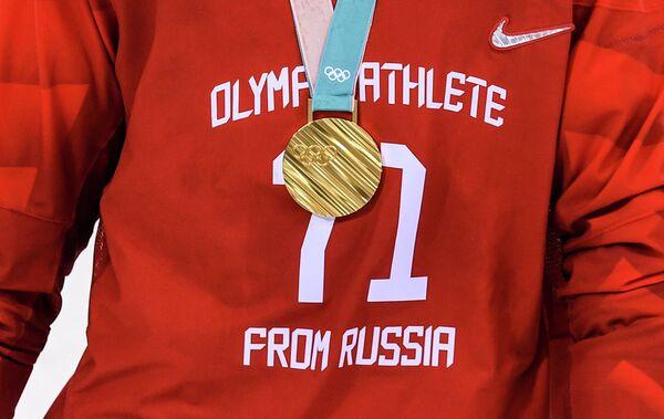 Золотая олимпийская медаль Ильи Ковальчука