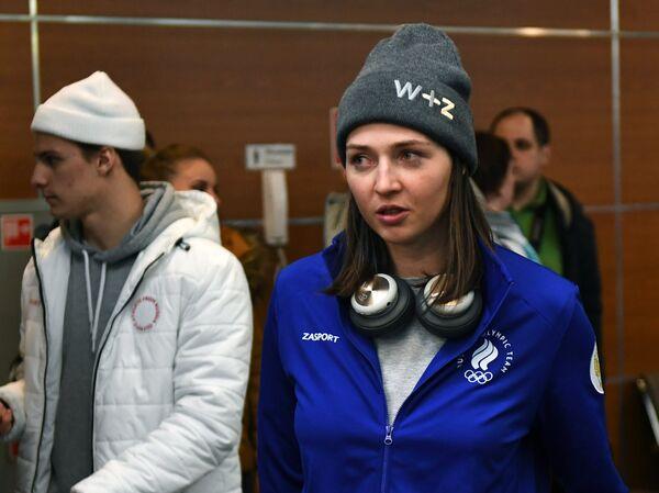 Сноубордистка Алена Заварзина