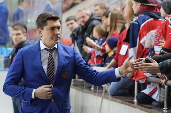 Главный тренер ПХК ЦСКА Игорь Никитин
