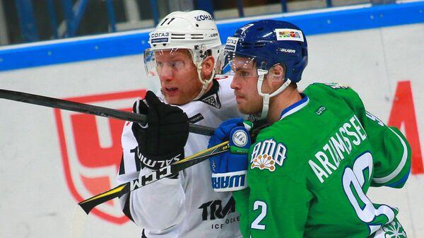 Рикард Гюнге (слева) и Захар Арзамасцев
