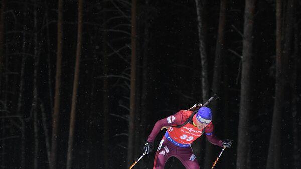 Русские биатлонистки заняли весь подиум вгонке преследования наэтапе кубка IBU