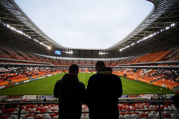 Зрители на стадионе Мордовия Арена