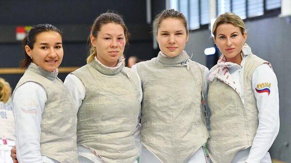 Аделина Загидуллина, Марта Мартьянова, Светлана Трипапина и Инна Дериглазова (слева направо)