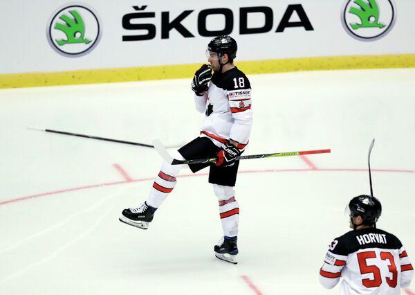 Хоккеист сборной Канады Пьер-Люк Дюбуа