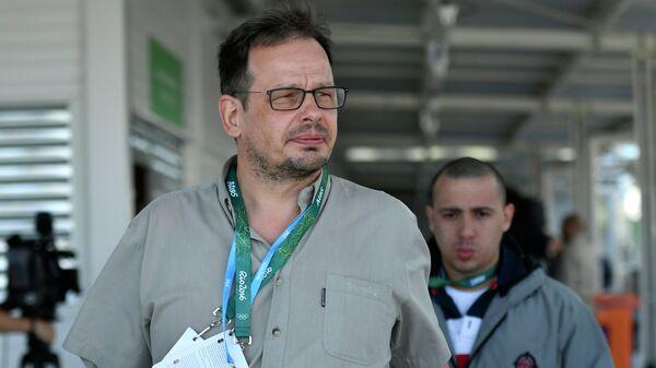 Немецкий журналист Хайо Зеппельт