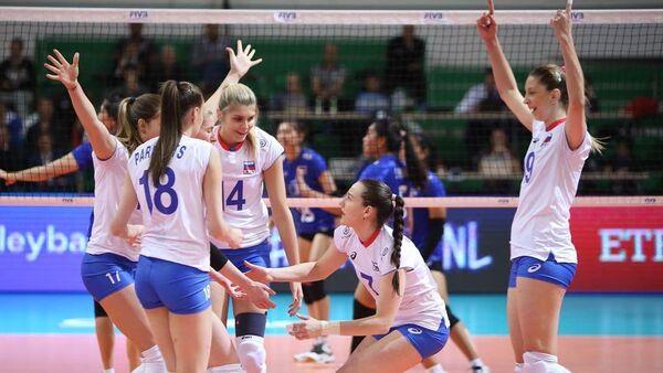Русские волейболистки разгромили сборную Мексики вматче отборочного турнира кОИ