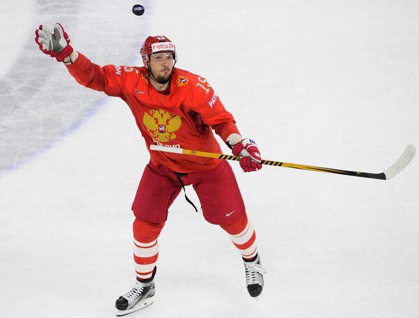 Форвард сборной России Артём Анисимов