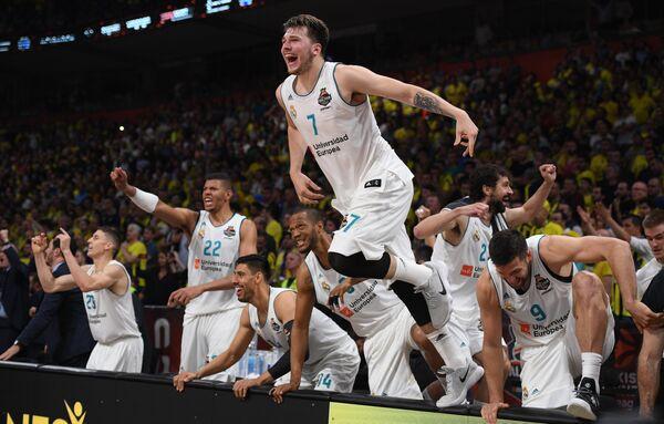 Баскетболисты Реала