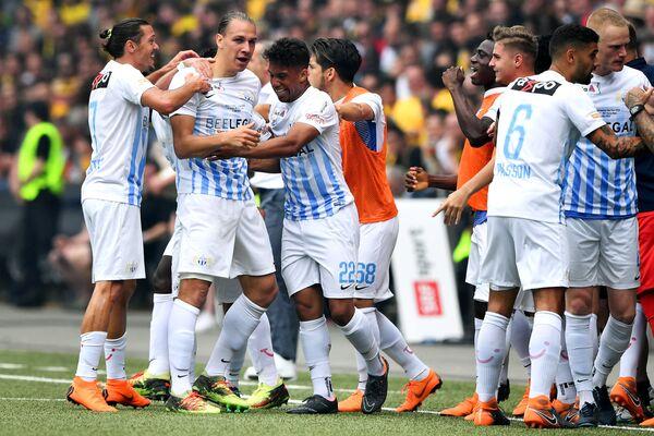 Футболисты Цюриха