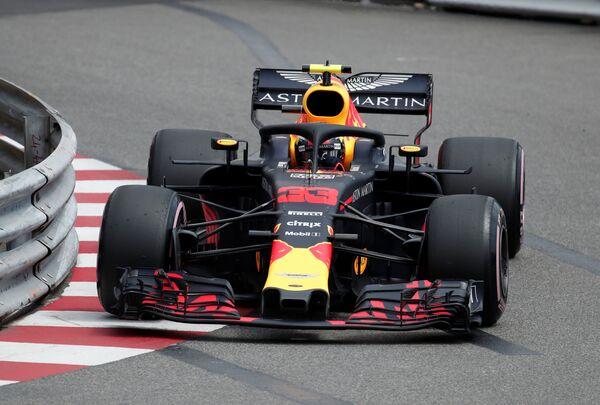 Голландский пилот команды Формулы-1 Ред Булл Макс Ферстаппен