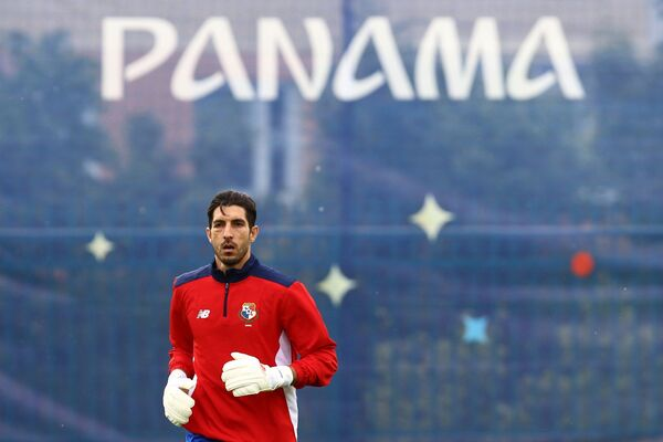 Вратарь сборной Панамы Хайме Пенедо