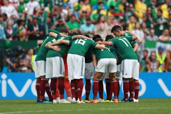 Игроки сборной Мексики