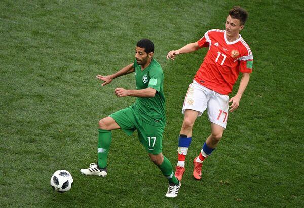 Слева направо: Таисир Аль-Джассим (Саудовская Аравия) и Александр Головин (Россия)