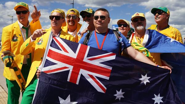 Болельщики сборной Австралии